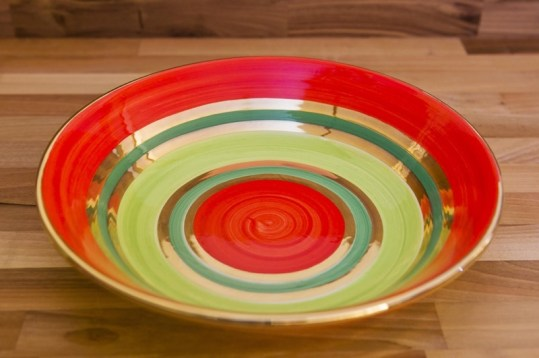 Lustre Horizontal pasta bowl in no.02