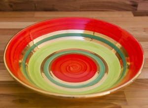 Lustre Horizontal pasta bowl in no.02