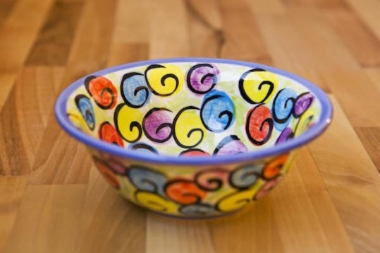 Reckless Rosie cereal bowl