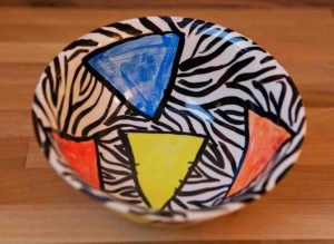 Carnival Safari cereal bowl