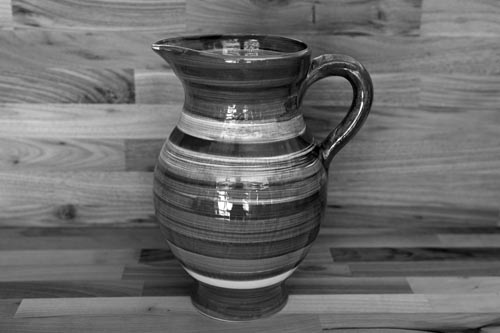 Lustre Horizontal large jug in No.01