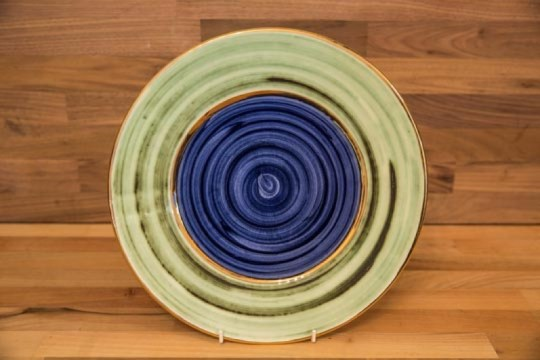 Lustre Horizontal 8″ side plate in No.09