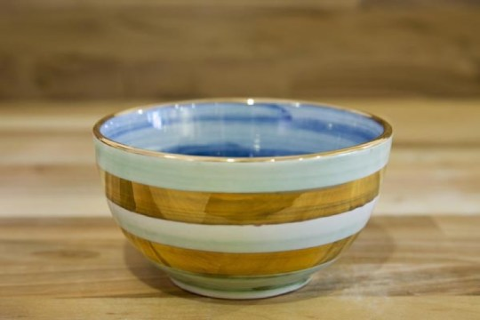 Lustre Horizontal sugar bowl in No.09