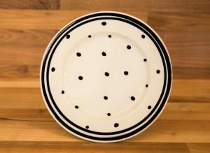 Black & White polka dot Reckless Designs
