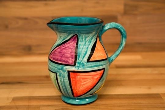 Carnival small jug in Sea Green