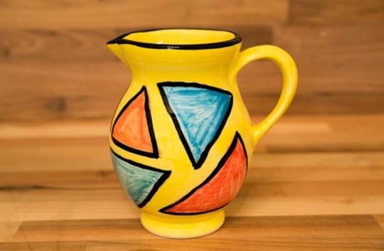 Carnival small jug in Yellow