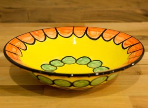 Fruity pasta bowl in Orange