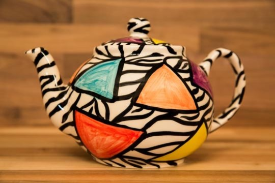 Carnival Safari large Teapot