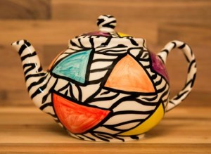 Carnival Safari mini teapot