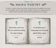 Chapter Six: Haiku Poetry