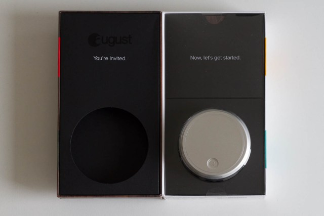 August Smart Lock - Open box