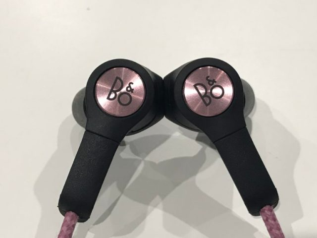 Beoplay H5 earbuds connected