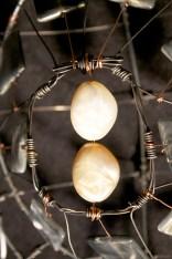 Center beads of shell.