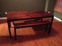 Build Kitchen Table Bench Design DIY PDF toy box building ...