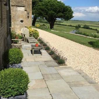 reclaimed Cathedral yorkstone