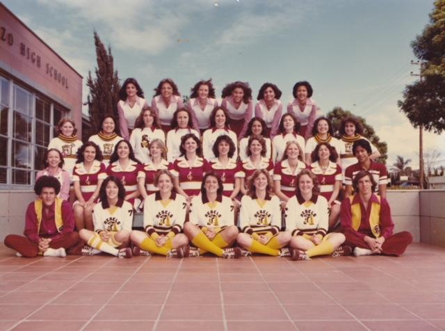 1977-78 Cheerleaders