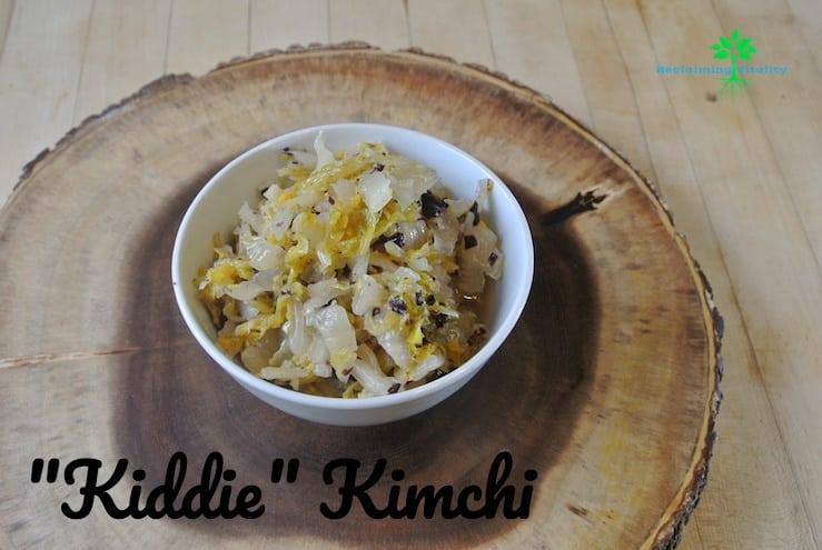 Kiddie Kimchi