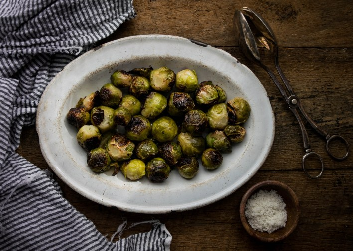 Grilled Brussel Spouts