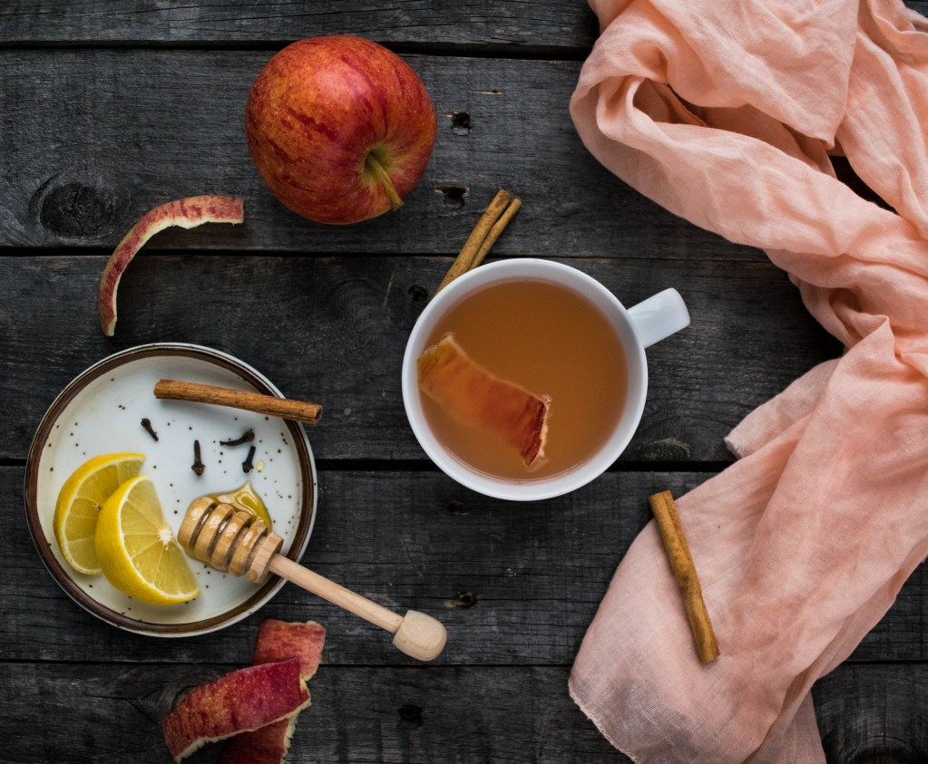 Apple Peel Tea | Reclaiming Yesterday