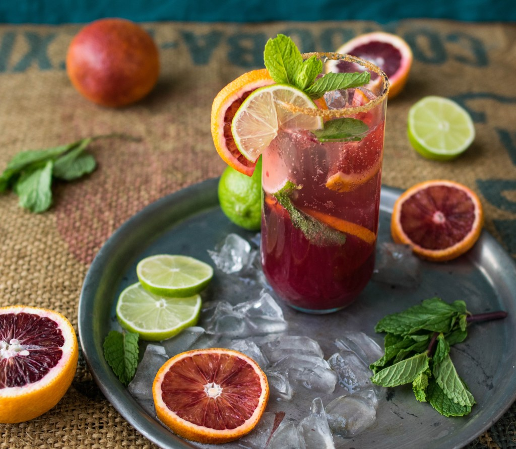 blood orange mojito 2