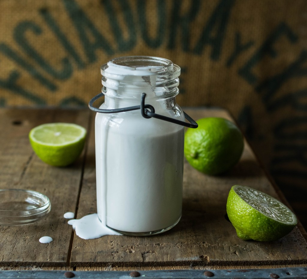 coconut milk lime