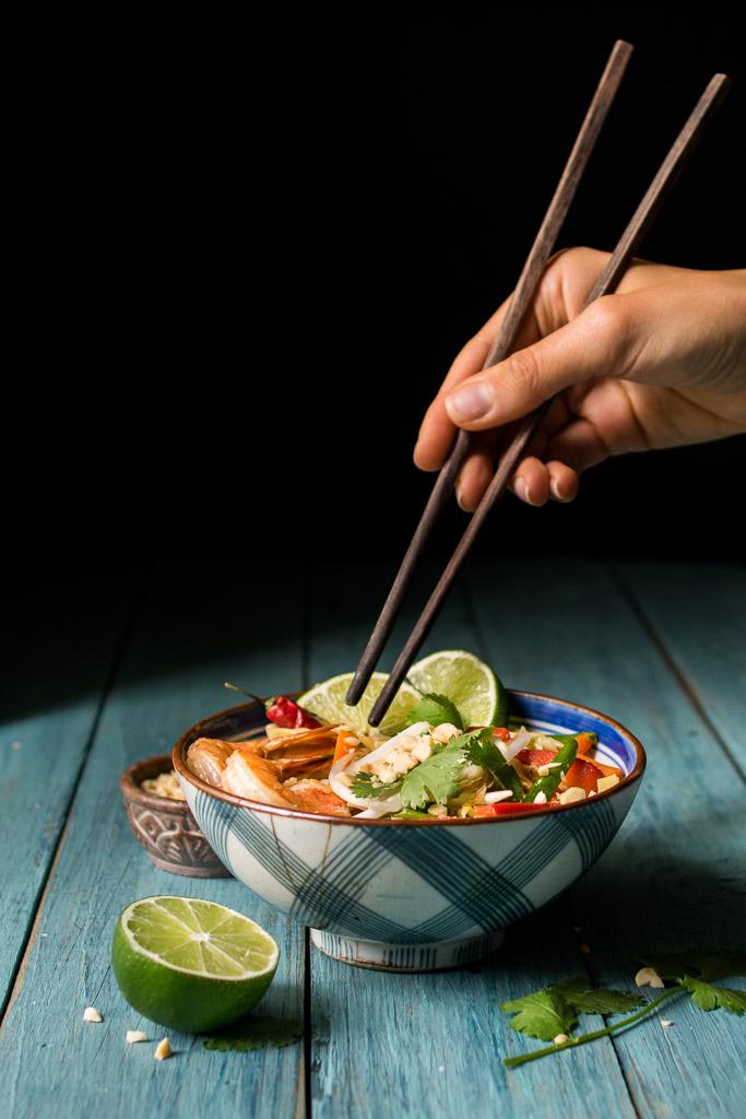 cabbage noodle pad thai