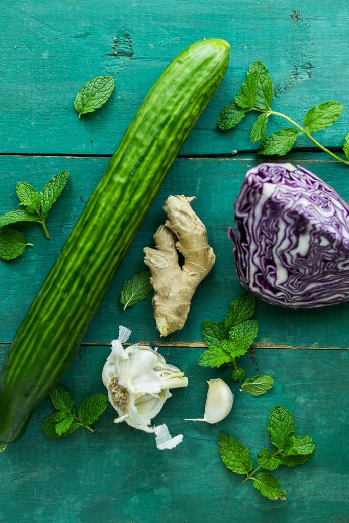 cucumber noodle salad