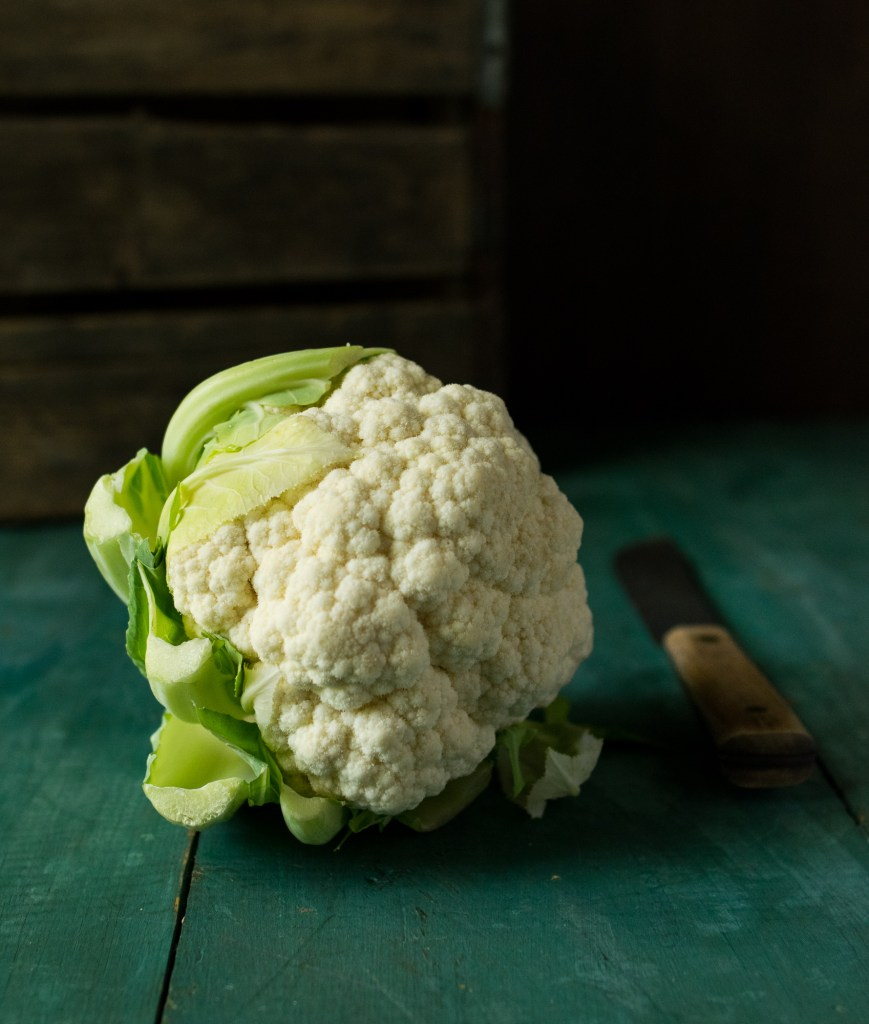 Pumpkin and Roasted cauliflower puree