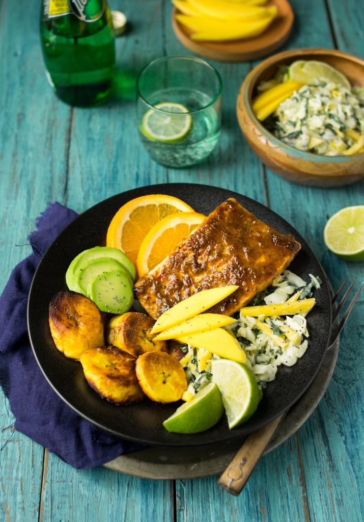 orange jerk salmon