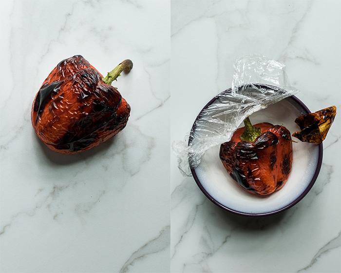 falafel bowls roasted red pepper