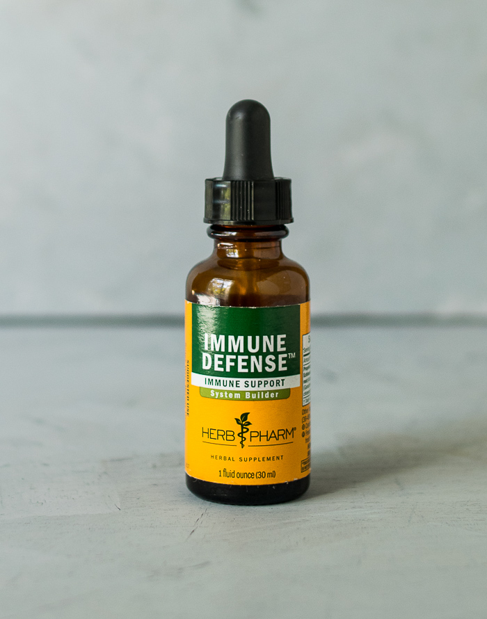 honey citrus immune spritzer