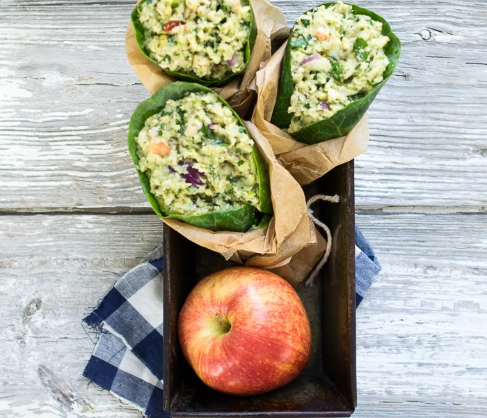 Tasty and healthy Avocado and Apple Tuna Salad | Reclaiming Yesterday
