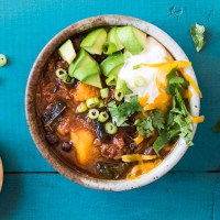 Crock Pot Sweet Potato Chipotle Chili