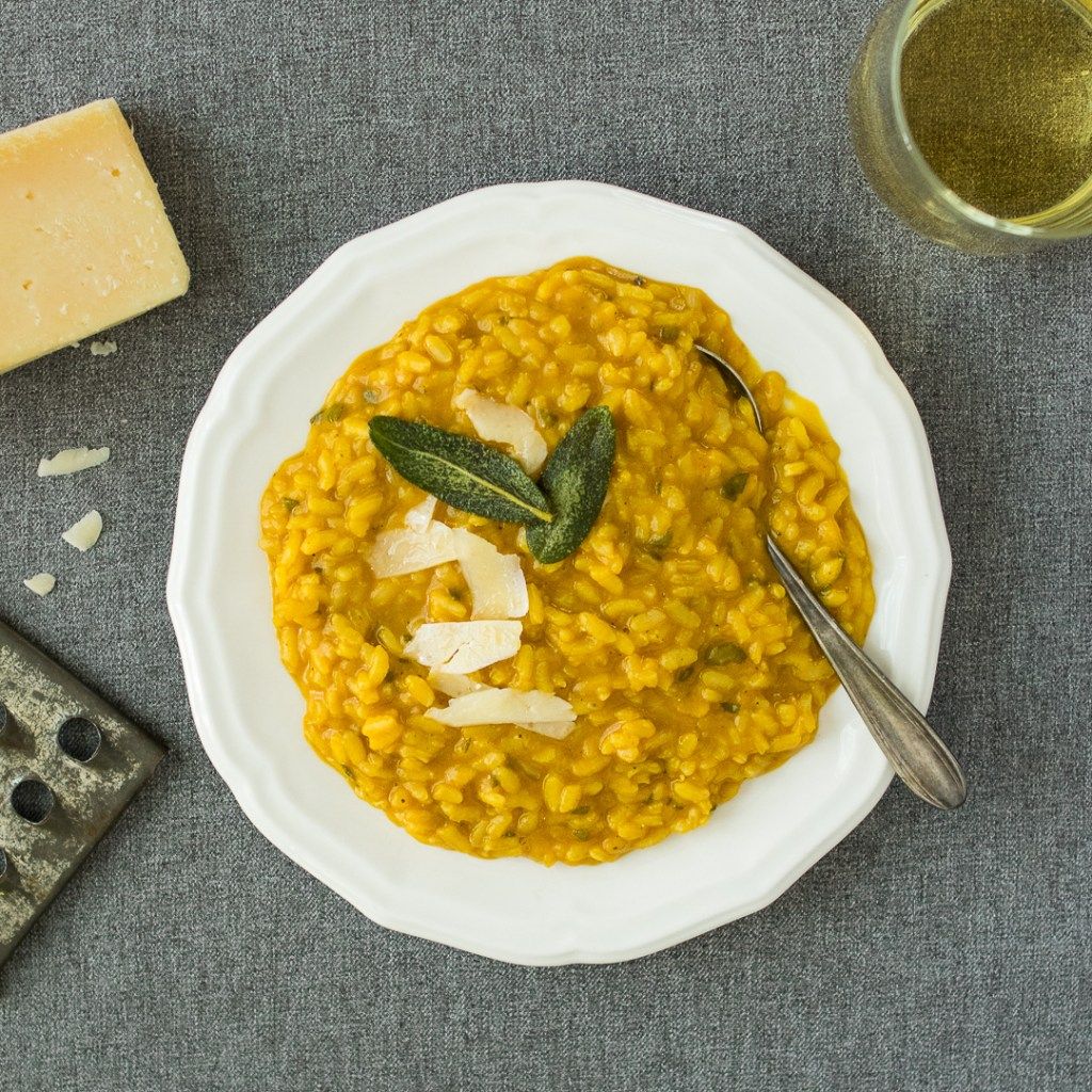 Pumpkin and Sage Risotto | Reclaiming Yesterday
