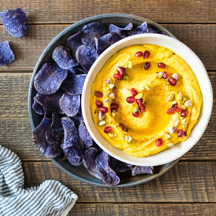 Butternut Squash Hummus | Reclaiming Yesterday