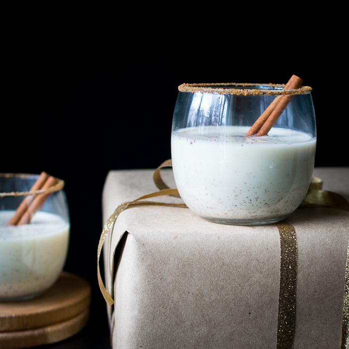 Calming Coconut Milk Eggnog | Reclaiming Yesterday