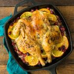 orange cranberry spatchcock chicken | Reclaiming Yesterday