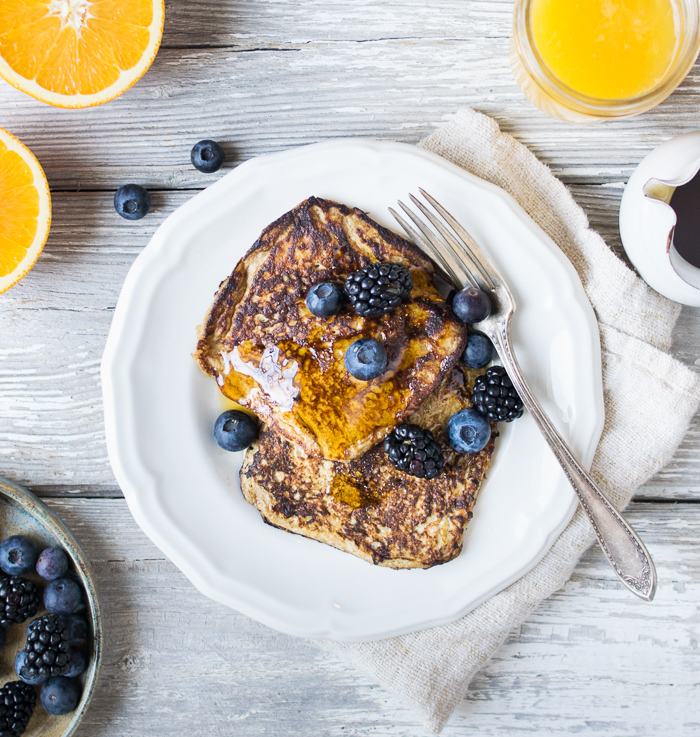 how to make french toast without eggs easy