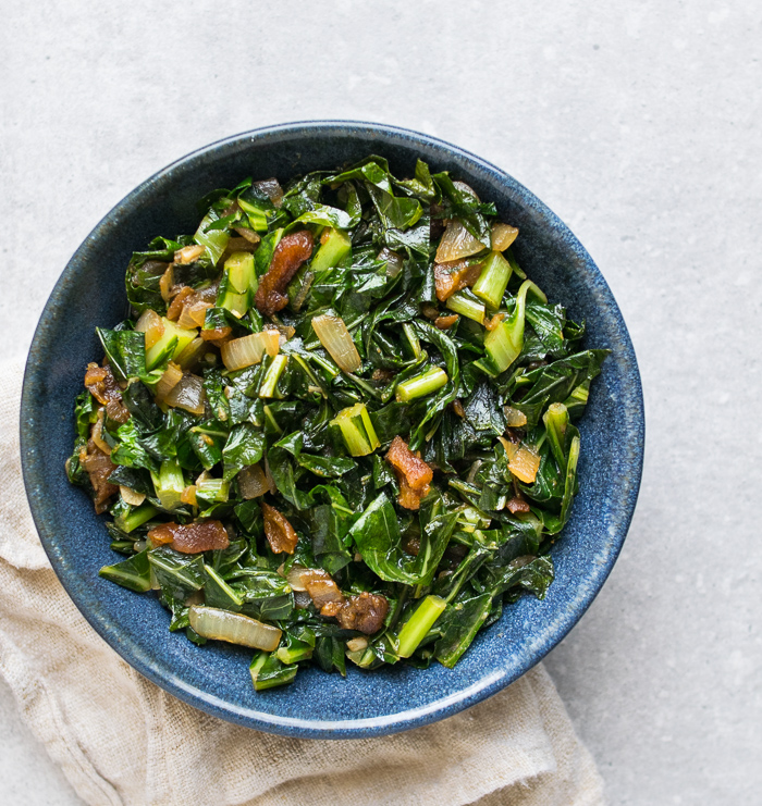 Collard Greens with Cumin and Apricots | Reclaiming Yesterday