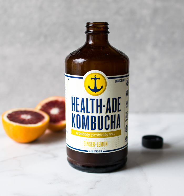 Blood Orange Kombucha Spritzer | Reclaiming Yesterday