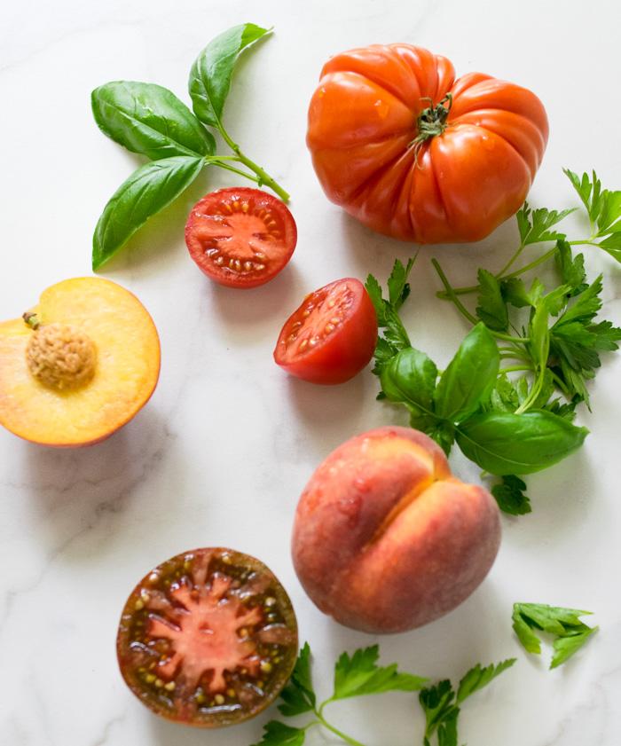 Tomato and Peach Gazpacho | Reclaiming Yesterday