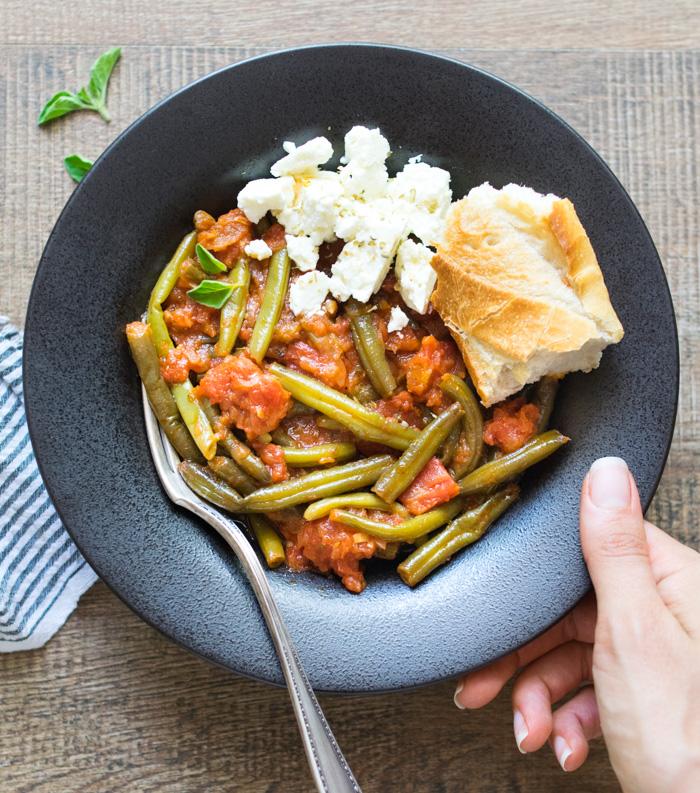 Greek Style Green Beans (Fasolakia) | Reclaiming Yesterday