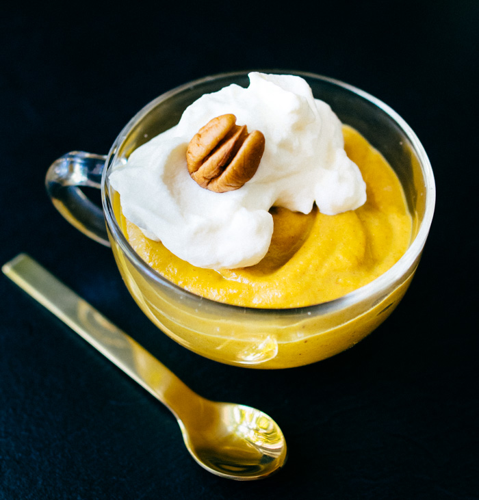 Paleo Pumpkin Pudding | Reclaiming Yesterday