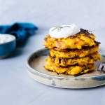 Easy Butternut Squash Fritters (Gluten Free, Paleo) | Reclaiming Yesterday