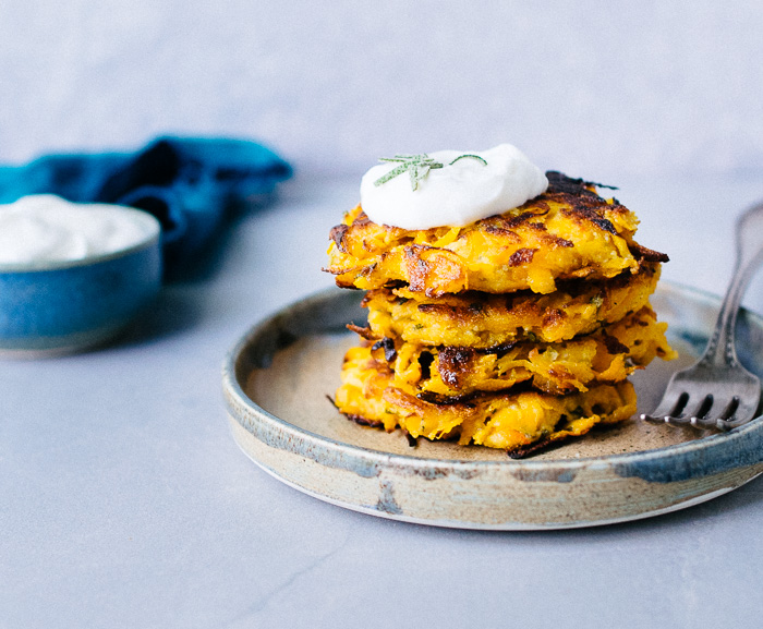Easy Butternut Squash Fritters (Gluten Free, Paleo)   Reclaiming Yesterday