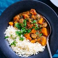 Instant Pot Moroccan Lamb Stew (Paleo, Whole30)