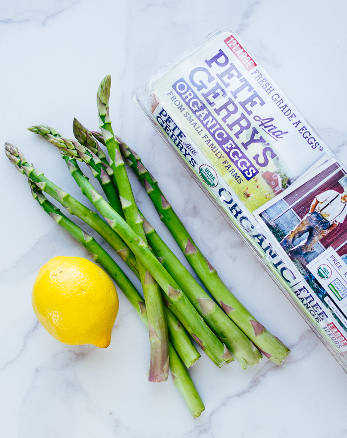 Shaved Asparagus Salad with Soft Boiled Eggs | The Brooks Group