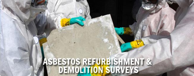 asbestos demolition survey uk ireland