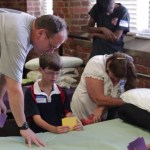 Find out what happens when volunteers pray over beds at KARM