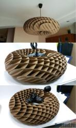 #corrugated #cardboard #lamp